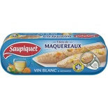 Saupiquet Mackerel fillets in white wine and herbs 176g