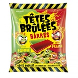 Verquin Tetes Brulees Barres Strawberry & Apple  200g