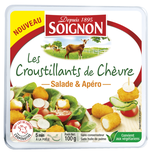 Soignon goat cheese crusty for salads and apero 100g