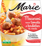 Marie Macaroni with Tomato sauce et meatballs 280g