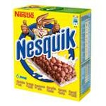 Nestle Nesquik chocolate cereal bars x 6 150g