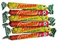 Cadbury Carambar Fruits sticks x10 10g