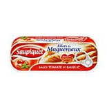 Saupiquet Mackerel fillets in tomato sauce and basil 169g