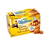 La Laitiere caramel creme oven cooked 4x100g