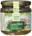 Jardin Bio Organic lentils cooked with vegetables 400g