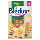 Bledina Bledine Junior Vanilla & Chip flavor from 15 months 400g