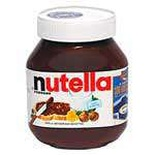 Nutella chocolate spread jar 350g