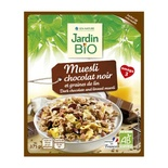 Jardin BIO Organic Muesli with dark chocolate and linen seed 375g