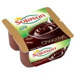 Sojasun Chocolate soya yogurts 4x100g