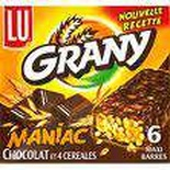 LU Grany Maniac chocolate covered cereal bar x 6 160g
