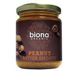 Biona Organic Peanut Butter smooth (No Salt) 250g