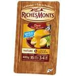 RicheMonts Raclette cheese duo plain & Gouda 400g