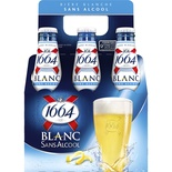 1664 Kronenbourg White beer Alcohol Free 6x25cl