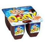 Danone Dany chocolate yogurt 4x90g