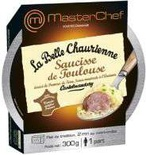 La Belle Chaurienne Toulouse's sausages with crushed potatoes & mustard sauce 300g