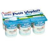 Yoplait Little plain cottage cheese 6x60g