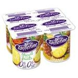 Danone Taillefine Pineapple yogurt 0% FAT 4x125g