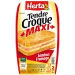 Herta Croque-Monsieur Maxi Ham & Cheese x2 300g