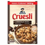 Quaker Cruesli Family Pack Dark chocolate cereals 900g