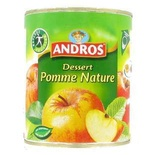Andros Plain apple stewed 850g