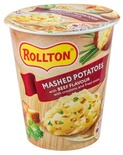 "Luxury Mashed Potatoes With Beef Flavour ""Rollton"" 55g"