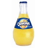Orangina yellow glass bottle 8x25cl