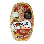 Sodebo Ham & Mushrooms pizza 200g