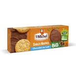 St Michel Organic milk chocolate shortbread  140g