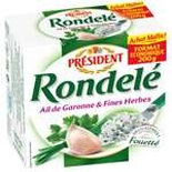 Rondele Garlic & herbs spread cheese 125g