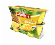 Andros Delice of Pineapple 4x100g