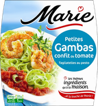 Marie King Prawn with Tomatoes & Pesto Tagliatelle 280g