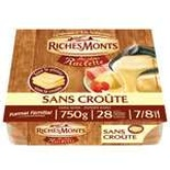 RicheMont Plain Raclette cheese crustless 750g
