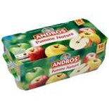 Andros Plain apple dessert 16x100g