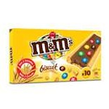 M&M's biscuits pocket x10 198g