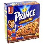 LU Prince Chocolate cereal bars x 6 125g