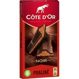 Cote d'or Dark chocolate with melted praline 200g