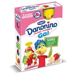 Danone Gervais Danonino to drink Strawberry & Banana 4x70g
