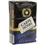 Carte Noire Arabica Ground Coffee Decaf 250g