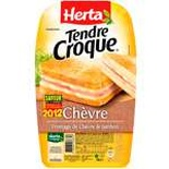 Herta Croque-Monsieur Goats cheese x2 200g