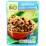 Jardin BIO Organic Sliced chicken & Sesame 250g