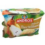Andros Delice of Williams Pears 4x100g