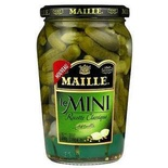 Maille Mini pickles 210g