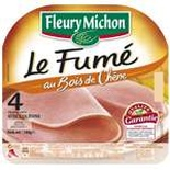 Fleury Michon smoked ham 4 slices 160g