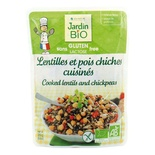 Jardin BIO Organic Cooked Lentils and Chickpeas Gluten Free 250g