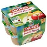 Andros Plain apple dessert 8x100g