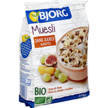 Bjorg Organic Muesli no sugar added 375g
