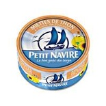 Petit Navire Tuna flakes in sunflower oil 160g