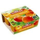 Andros Apple & Apricot dessert 4x100g