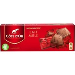 Cote D'or Milk Chocolate Mignonette extra fine x24 240g