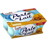 Yoplait Perle de Lait Mango & Passion yogurts 4x125g